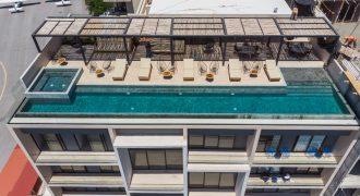 Departamento en venta en Playa del Carmen a 300 mts de la mundialmente famosa Quinta Avenida y el mar Caribe de una recamara en el distrito centro